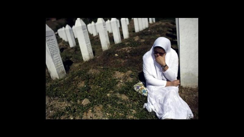 Ban Ki-moon in visita a memoriale vittime Srebrenica