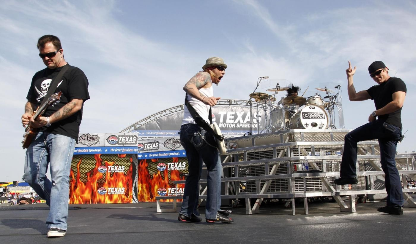 Bassista dei 3 Doors Down arrestato per guida in stato di ebbrezza
