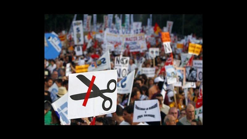 Spagna, governo taglia stima Pil 2013 da +0,2% a -0,3%
