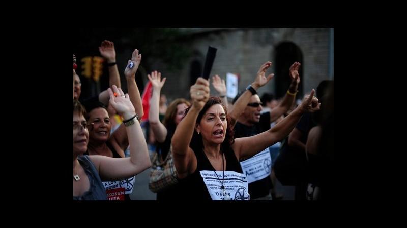 Spagna, migliaia di statali in corteo in 80 città contro austerità