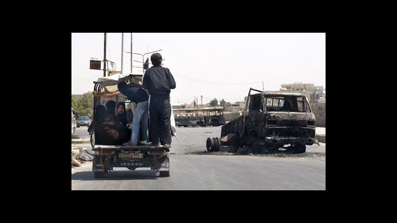 Siria, capo missione Onu: Regime e ribelli non proteggono i civili