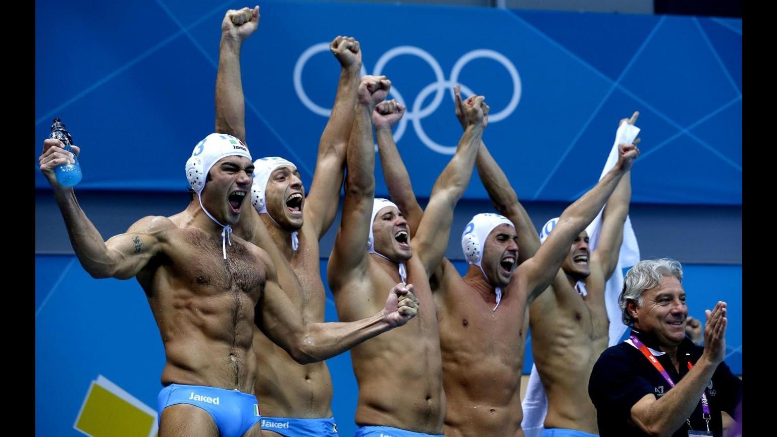 DIRETTA Londra 2012,  Sarmiento è bronzo. Settebello in finale