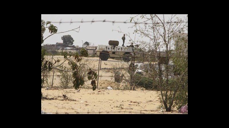 Egitto: Autori attacco Sinai nemici Paese. Israele vuole sicurezza