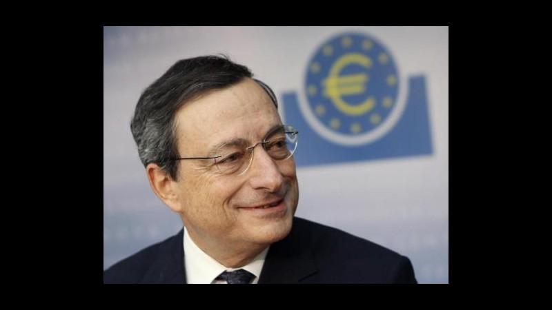 Crisi, Draghi: A volte necessarie misure eccezionali