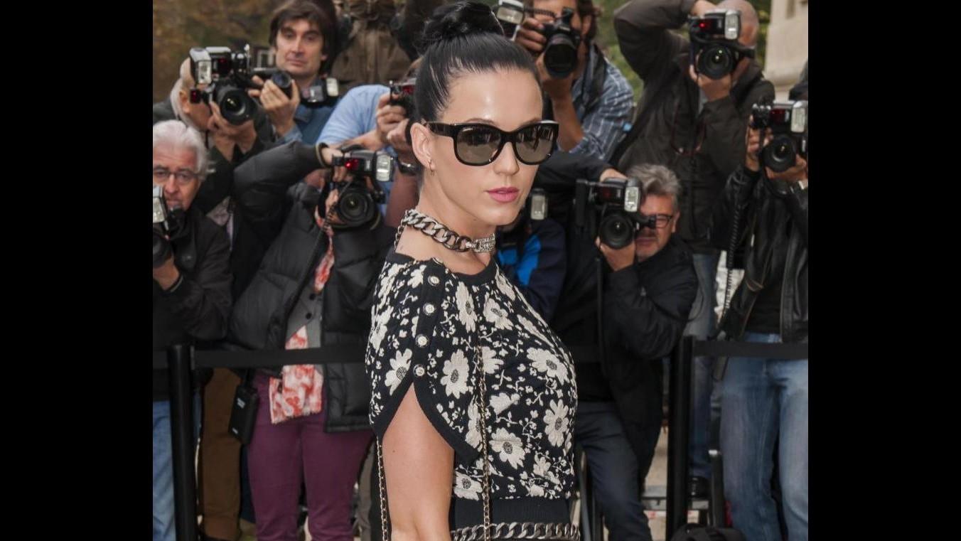Parigi fashion week, Katy Perry e Rita Ora in prima fila da Chanel