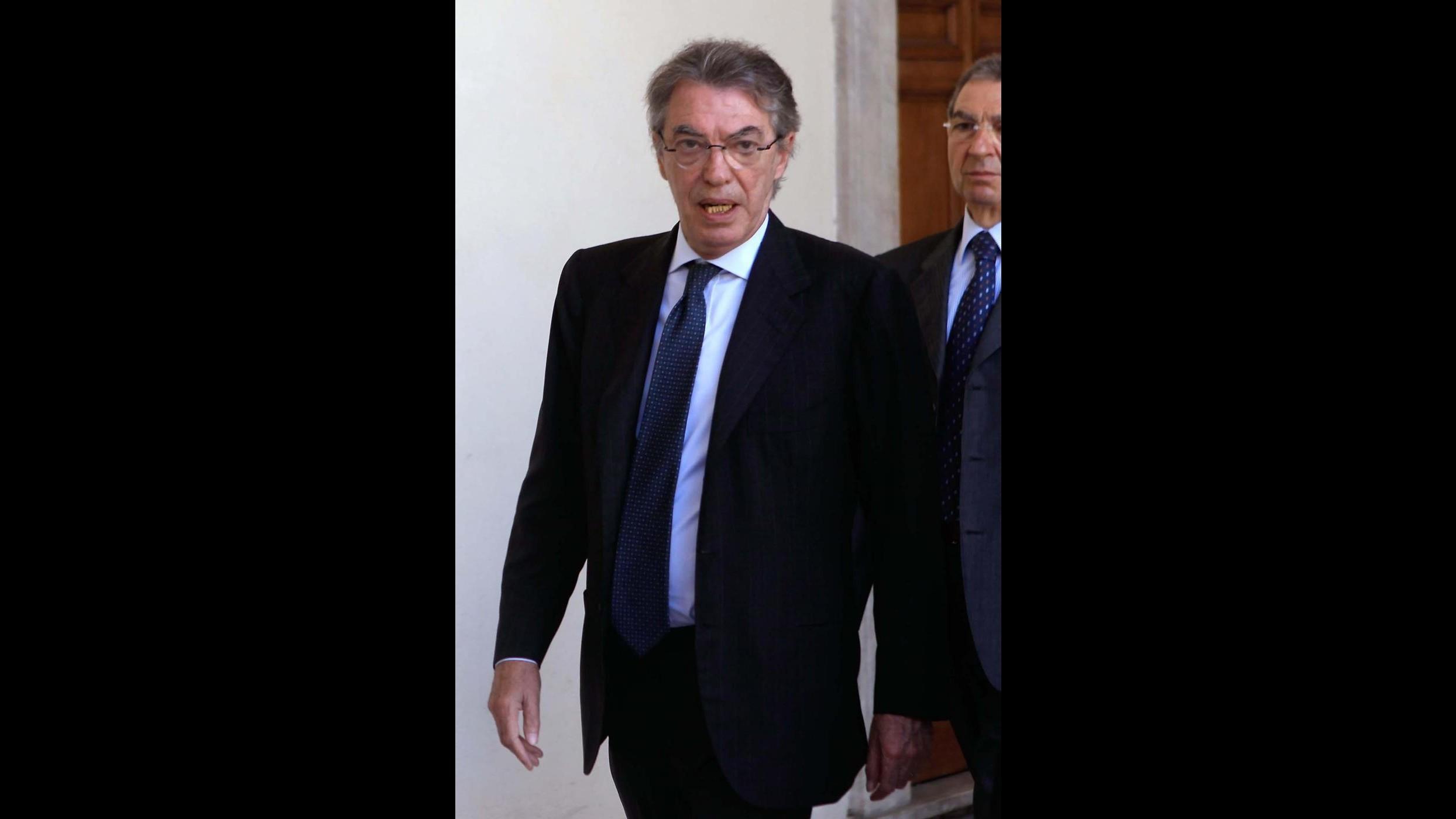 Moratti: Per il vice-Milito vedremo. J.Cesar-Maicon, Inter è casa loro