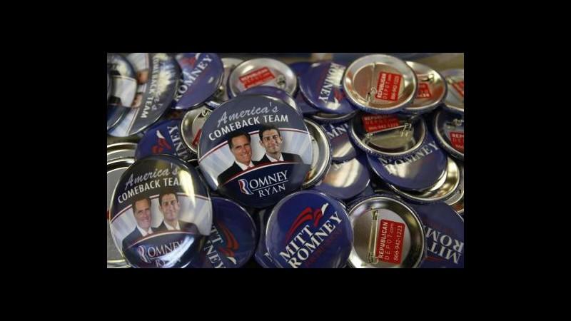 Usa 2012, Romney è candidato ufficiale Gop alla presidenza