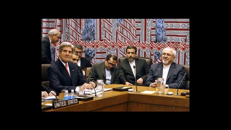 Iran, Zarif incontra Kerry: Vogliamo accordo su nucleare entro un anno