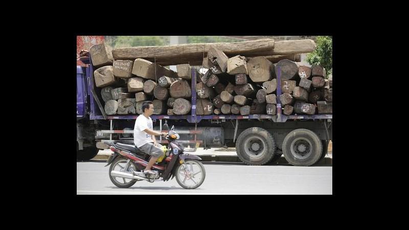 Cina, schianto tra furgone e camion in provincia di Shaanxi: 9 morti
