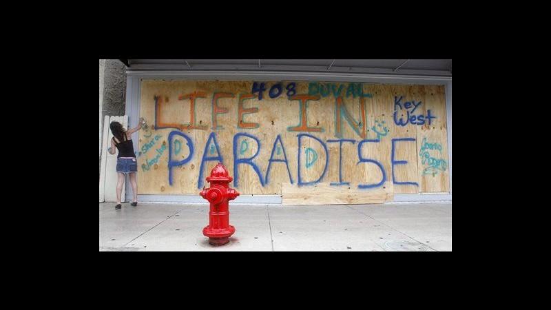Tempesta Isaac sfiora le Keys, allerta uragani estesa a New Orleans