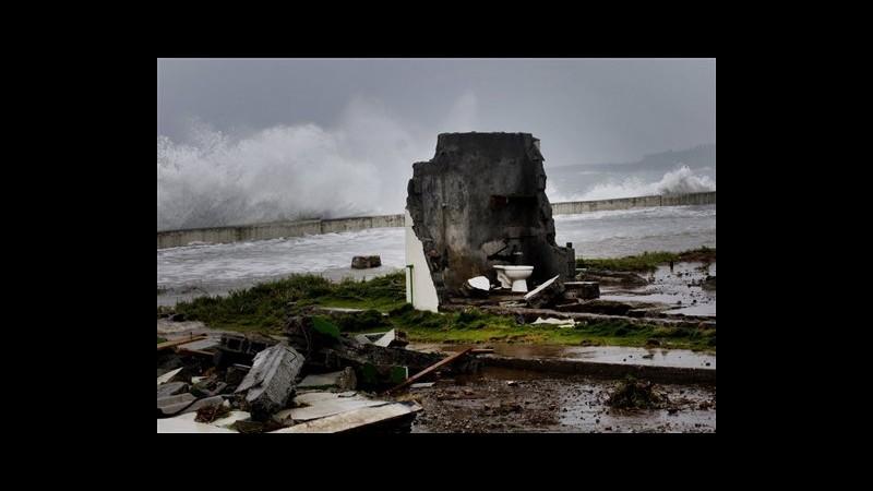 Tempesta Isaac lascia Cuba e si dirige su Florida Keys, 4 morti ad Haiti