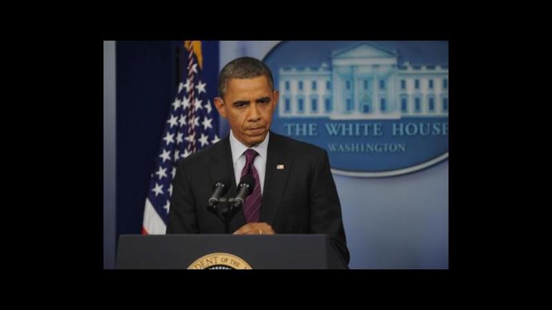 Siria, Obama: Uso armi chimiche è linea rossa per azione militare