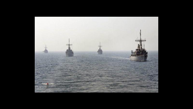 Iran, da domenica nel golfo Persico esercitazioni navali Usa