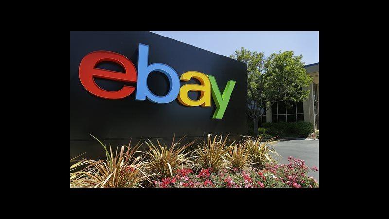 eBay, utile III trimestre sale a 689 mln dollari (+15%), ricavi +14%