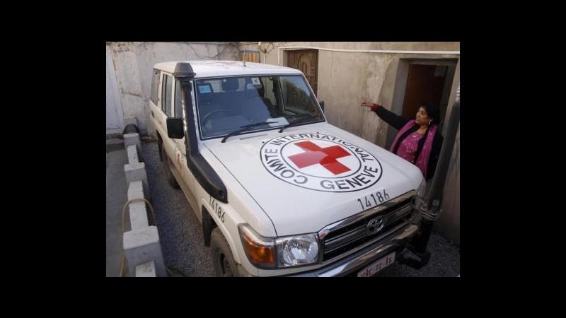 Siria, rapiti 7 cooperanti della Croce rossa nel nord