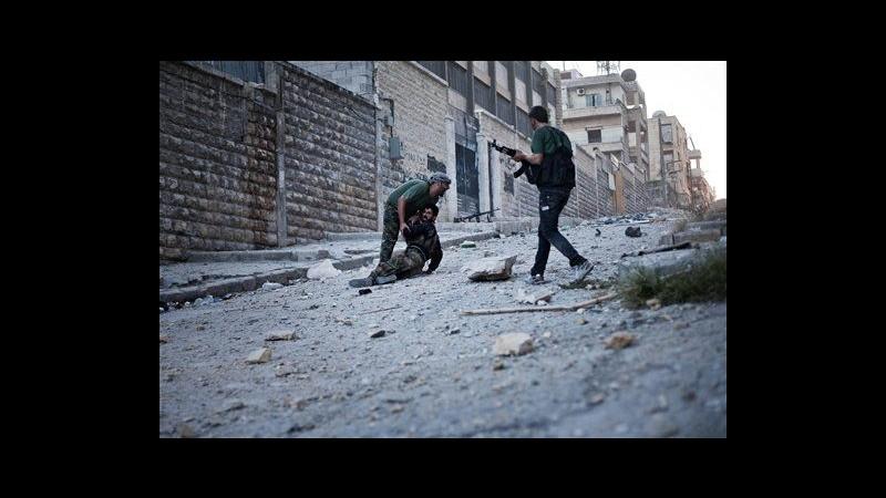 Siria: Francia vuole militarizzare conflitto. Proseguono gli scontri