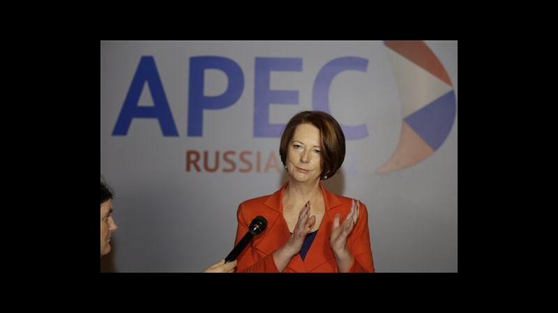 Premier Australia lascia vertice Apec dopo morte del padre