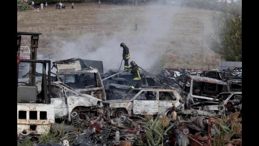 Roma, precipita Cessna vicino aeroporto di Ciampino: 2 morti