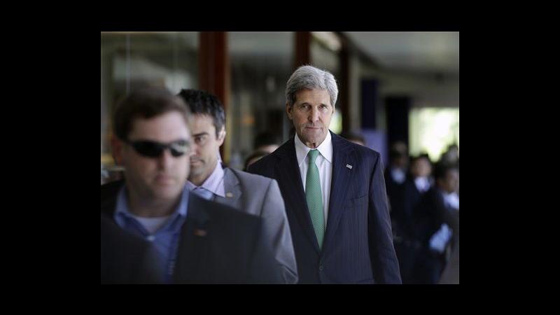 Usa, Kerry: Raid in Africa dimostrano che continuiamo lotta a terrorismo