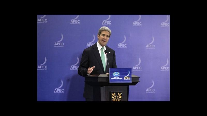 Usa, Kerry: Shutdown messaggio negativo, ma solo difficoltà momentanea