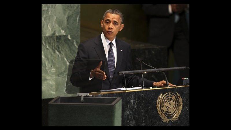 Obama a Onu: Combattiamo estremismo e violenze, regime Assad deve finire
