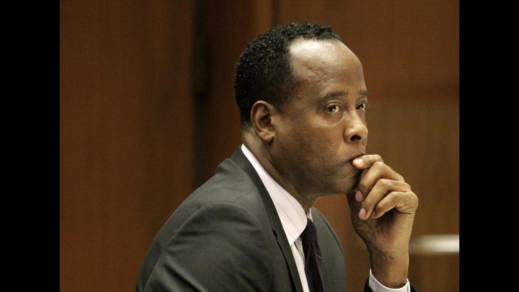 Conrad Murray: Jackson sarebbe stato inorridito nel vedermi in carcere