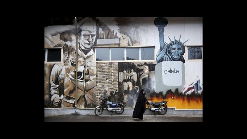 Iran, anniversario crisi ostaggi: proteste davanti ex ambasciata Usa
