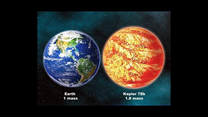 Pianeta extrasolare Kepler-78b ha massa e composizione simili a Terra
