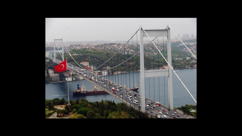 A Istanbul inaugurato il tunnel ferroviario sotto il Bosforo