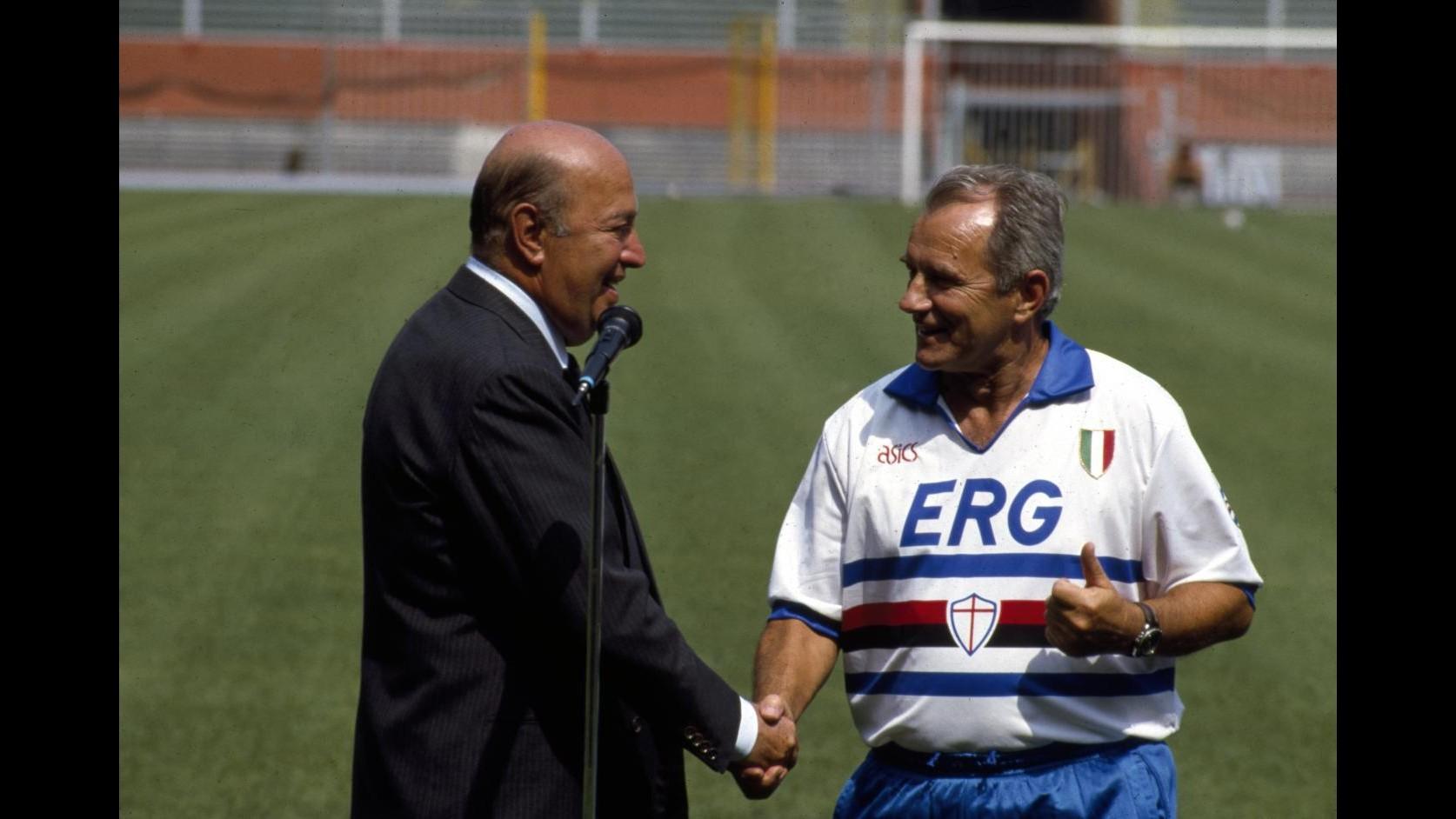Sampdoria annuncia via di Roma intitolata a Paolo Mantovani