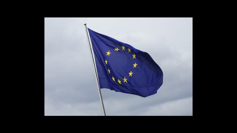 Eurostat: Surplus commerciale eurozona sale a 15,6 mld a luglio