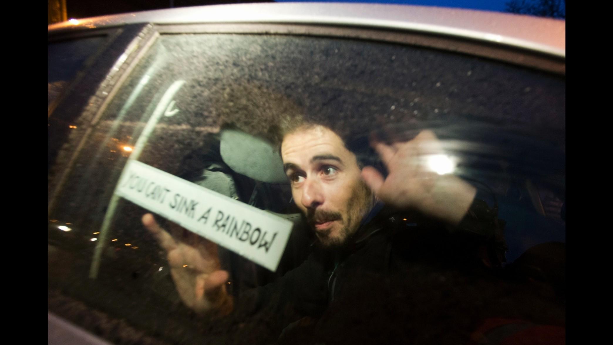 Russia, scarcerato l'attivista di Greenpeace Cristian D'Alessandro