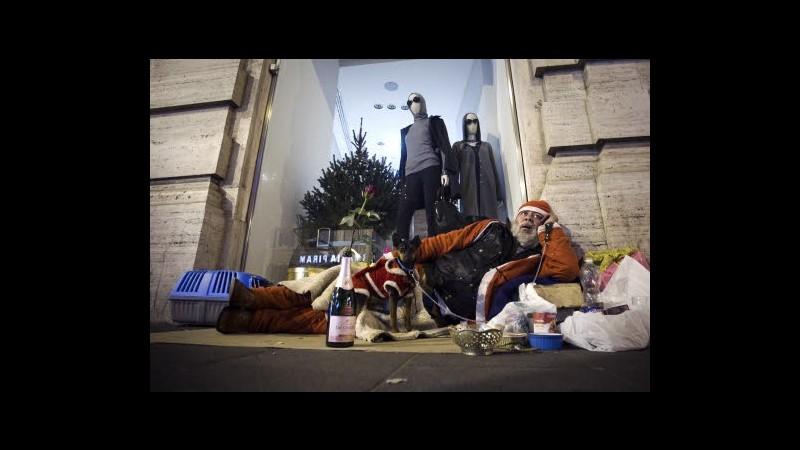 Sono 50mila i senzatetto in Italia: lo 0,2% della popolazione