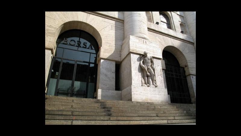 Borsa, Milano giù in giorno battesimo Esm, pesa rallentamento Asia