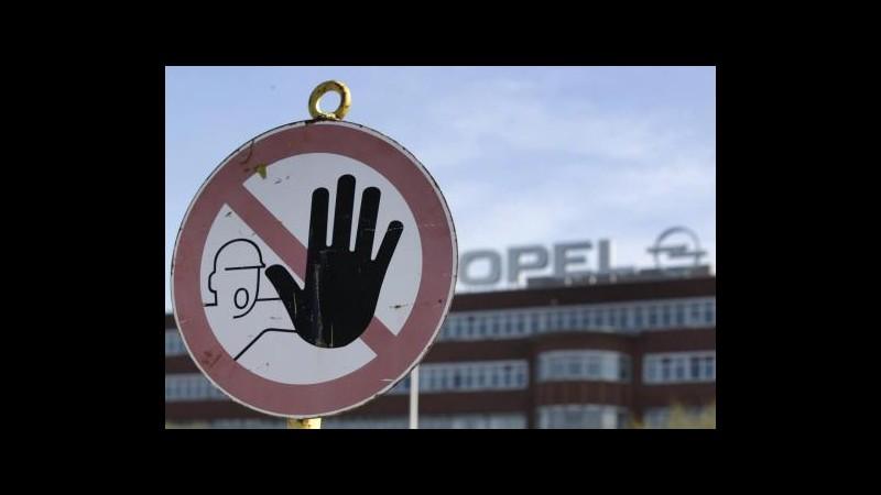 Fiat, GM: Opel non è in vendita, confermiamo intesa con Peugeot