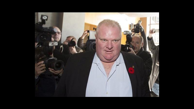 Canada, Comune di Toronto toglie poteri a sindaco dopo scandalo crack