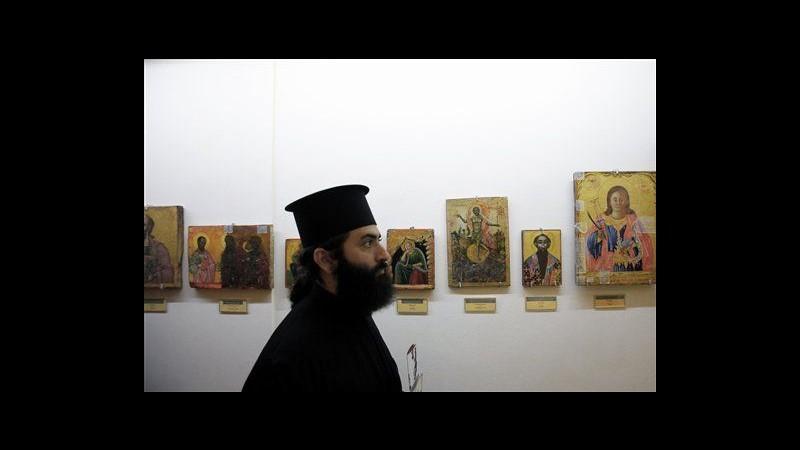 Cipro, restituite 173 opere sacre rubate da chiese ortodosse nel nord