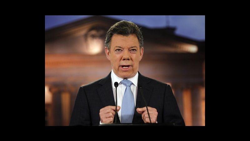 Colombia, presidente Santos ha cancro alla prostata, domani operazione