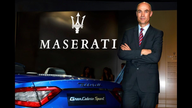 Maserati, Manfred Braeunl nuovo direttore marketing