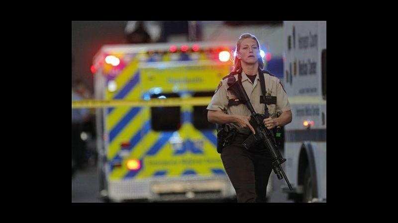 Usa, uomo armato uccide 4 persone a Minneapolis e si suicida