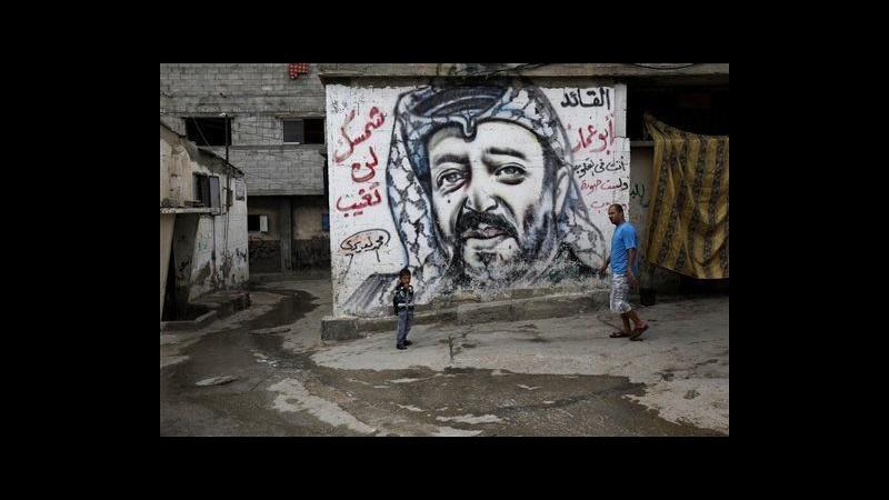 Investigatori Anp: Israele è l'unico sospetto per morte di Arafat