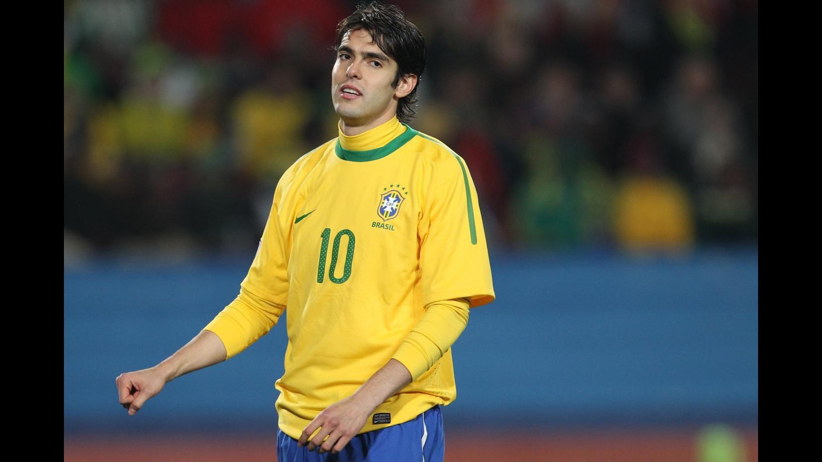 Brasile: Kaka torna in Nazionale, Castan unico 'italiano'