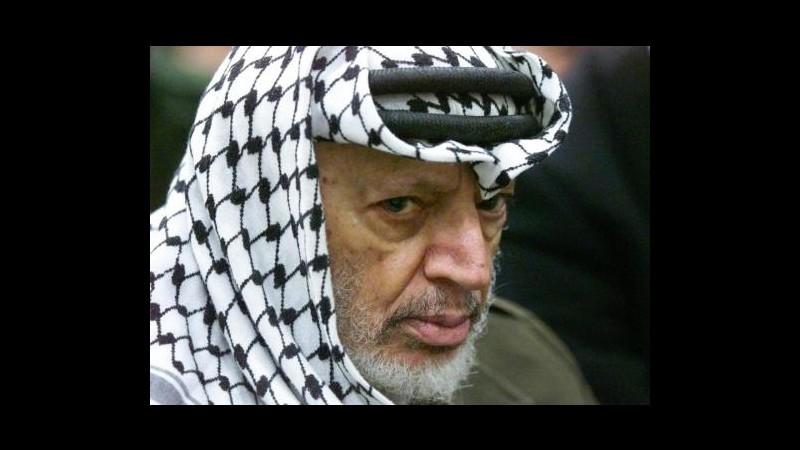 Arafat, esperti: Molto probabile tesi avvelenamento con polonio