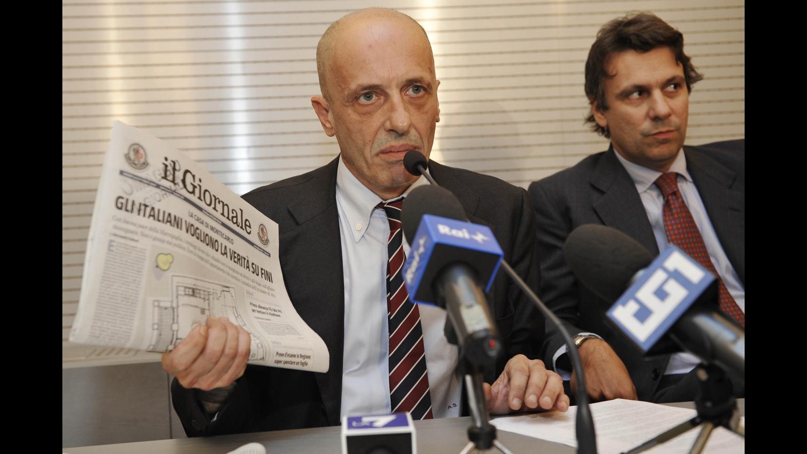 Nuova udienza per Sallusti in tribunale a Milano