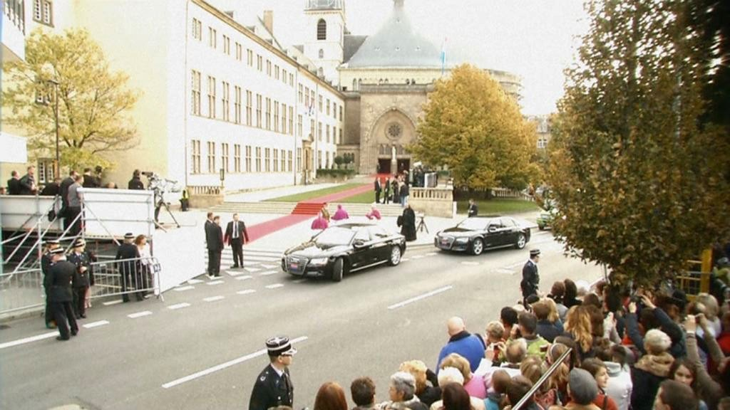 Principe Guglielmo di Lussemburgo e Stéphanie de Lannoy hanno detto sì