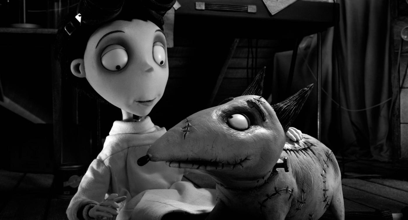 Tim Burton con 'Frankenweenie' riporta in vita il suo cane al cinema