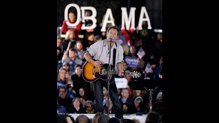 Bruce Springsteen rompe promessa e scende in campo a sostegno di Obama