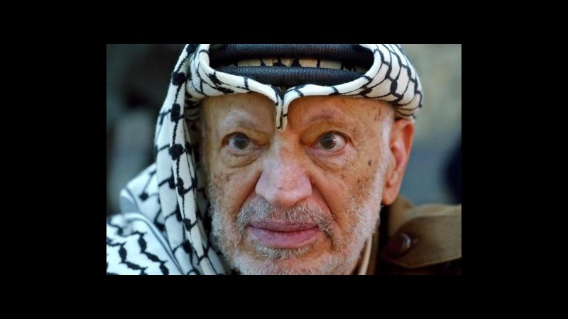 Arafat, esperti francesi escludono avvelenamento: Fu morte naturale