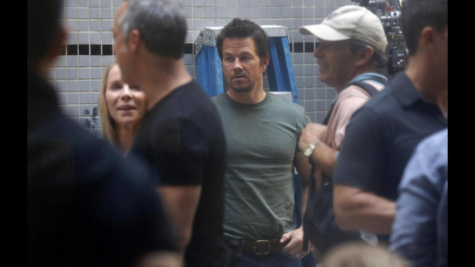 Mark Wahlberg rischia la vita sul set di 'Lone survivor' per esplosione
