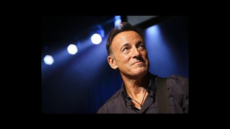 Bruce Springsteen, all'asta manoscritto inedito di 'Born to run'